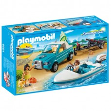 Playmobil Summer Fun - Pick-Up com Barco