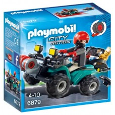 Playmobil City Action - Ladrão com Moto 4