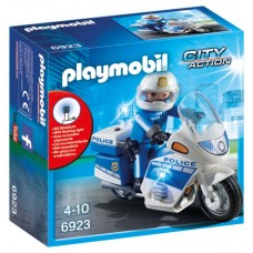 Playmobil City Action - Mota da Polícia com LED