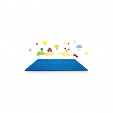 Create your own world on a Blue LEGO® Baseplate!