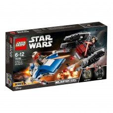 Lego Star Wars - A-Wing vs. TIE Silencer